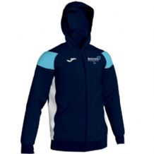 Ballymena Runners Club Joma Crewe III Full Zip Hoodie Navy/Sky/White Youth 2019